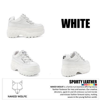 Naked Wolfe スニーカー 【NIKE】日本未入荷★naked wolfe★Sporty Leather 3 clolors(6)