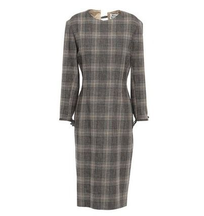 Acne ワンピース Acne Studios☆Prince of Wales checked wool & cotton ドレス(2)