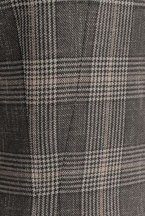 Acne ワンピース Acne Studios☆Prince of Wales checked wool & cotton ドレス(4)