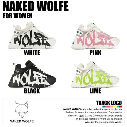 【naked wolfe】★日本未入荷★Track Logo 4 colors