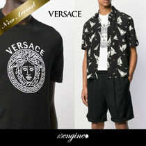 クール☆Medusa Embroidery Tシャツ☆VERSACE