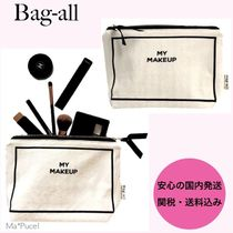 Bag all(バッグオール) メイクポーチ 【国内送関込】Bag-all★MY MAKE-UP CASE メイク ポーチ WH