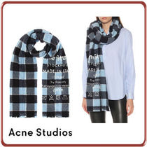 Acne Studios★ 国内発送 Checked wool scarf