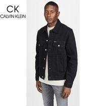 New Calvin Klein Trucker Embroジャケット