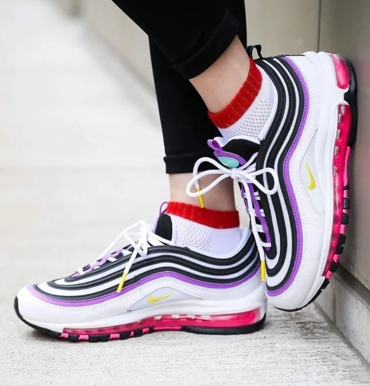 Shop Nike AIR MAX 97 Platform Platform & Wedge Sneakers by ellypop ...