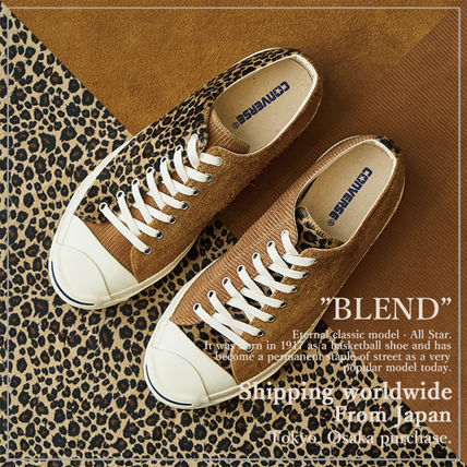 "【CONVERSE】コンバース JACK PURCELL""BLEND"" レオパード"