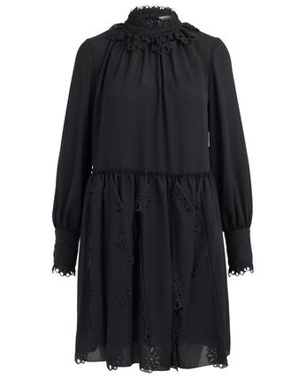 See by Chloe ワンピース 【See by Chloe】Crepe dress with cut-out(2)