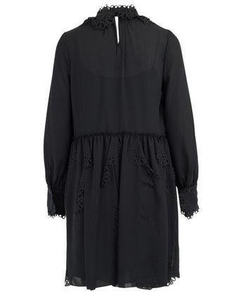 See by Chloe ワンピース 【See by Chloe】Crepe dress with cut-out(3)