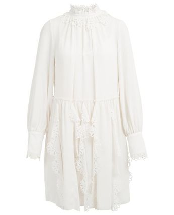 See by Chloe ワンピース 【See by Chloe】Crepe dress with cut-out(5)