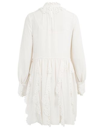 See by Chloe ワンピース 【See by Chloe】Crepe dress with cut-out(6)