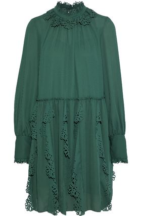 See by Chloe ワンピース 【See by Chloe】Crepe dress with cut-out(8)