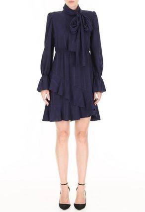 See by Chloe ワンピース 【See by Chloe】Ruffled crepe dress(5)