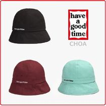 【have a good time】Side Logo Bucket Hat ■ 帽子