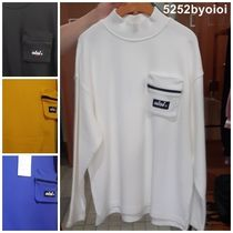 5252 by o!oi  POCKET HALF NECK LONG SLEEVE ☆韓国発☆19FALL