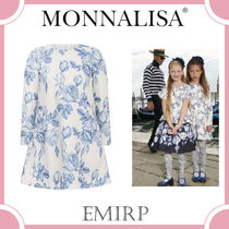 MONNALISA☆ST.ROSE+ROUCHESローズワンピース 4-11Y