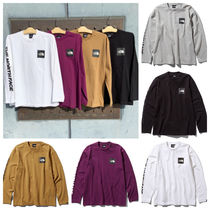 【THE NORTH FACE】国内発☆L/S SQUARE LOGO SLEEVE TEE