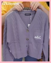 5252 by oioi HEART CHAIN CROP CARDIGAN☆韓国発★大人気 ☆3色