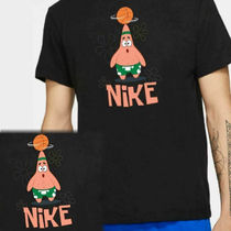 【NIKE】Kyrie x スポンジボブ Patric Star Tシャツ(黒)