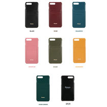 [FENNEC] LEATHER iPHONE 7+8+ CARD CASE (7COLOR)