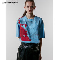 ANOTHERYOUTH(アナザーユース) Tシャツ・カットソー ANOTHERYOUTH正規品★19AW★フェースプリンティングTシャツ