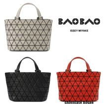国内発送【BAO BAO ISSEY MIYAKE】CRYSTAL MATTE TOP HANDLE BAG
