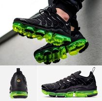 NIKE ★ AIR VAPORMAX PLUS ★ Black / Bolt ★ 24~28cm