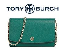 秋SALE◆ToryBurch【包装OK】ROBINSON CHAIN WALLETクロスボディ
