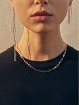 日本未入荷Heiのsquare chain necklace