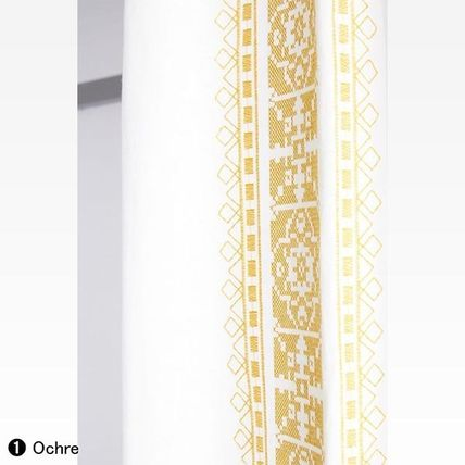 Anthropologie カーテン ★新作BOHOシック ★ Camilla Embroidered Curtain 2色★H213cm~(5)