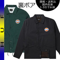 国内在庫・即納可能 HUF BAKERS COACHES JACKET