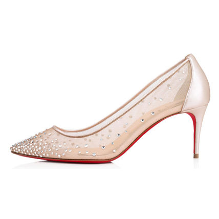 new products 8f676 56063 19AW《Christian Louboutin》Follies Strass 70mm