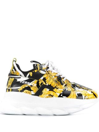 VERSACE スニーカー 関税込◆Chain Reaction sneakers(3)