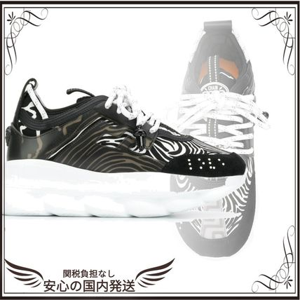 VERSACE スニーカー 関税込◆Chain Reaction sneakers
