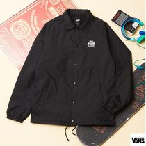 VANS★TORREY COACH JACKET BLACK-WHITE