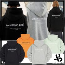 ANDERSSON BELL(アンダースンベル) パーカー・フーディ ★関税込★ANDERSSONBELL★FULL NAME LOGO EMBROIDERY HOODIE