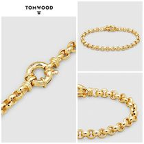 【TOM WOOD】☆新作☆ Thick Rolo Bracelet Gold