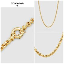 【TOM WOOD】☆新作☆ Thick Rolo Chain Gold