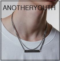 ANOTHERYOUTH(アナザーユース) ネックレス・ペンダント 正規品★ANOTHERYOUTH★layered necklaceネックレス/追跡付