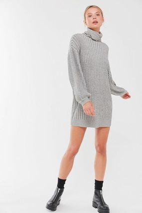 Urban Outfitters ワンピース Urban Outfitters タートルネックセーターワンピ(6)