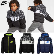 ★NIKE★ Kids' Colorblock Logo Puffer Jacket キッズ 3〜7才