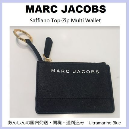 MARC JACOBS【国内発送】☆Saffiano Top-Zip Multi Wallet☆