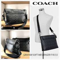 9月新作 COACH★メンズ GRAHAM SOFT MESSENGER F78722