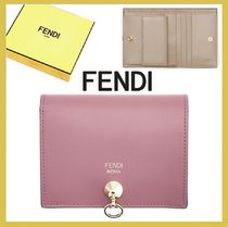 FENDI★by the way bi-color 折りたたみ財布 pink【謝恩品EMS】