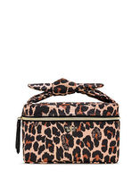 NEW! Leopard Mix Small Weekender Train Case