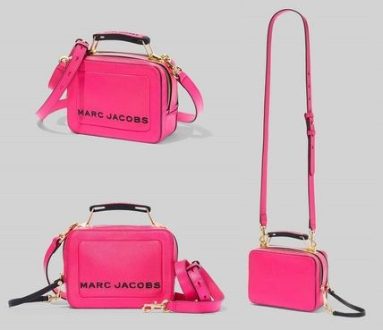 MARC JACOBS ショルダーバッグ・ポシェット 【関税込/追跡付】★MARC JACOBS★2019年 The Box ミニバッグ(10)