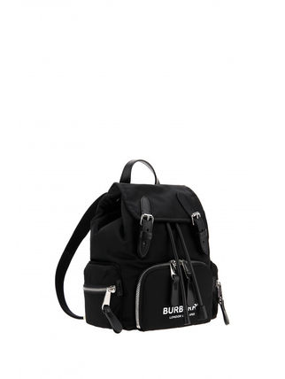 Burberry バックパック・リュック BURBERRY★LONDON ENGLAND BACKPACK BLACK(5)