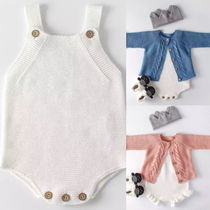 BABY★3Mー3yrs ☆KNITTED ROMPER★