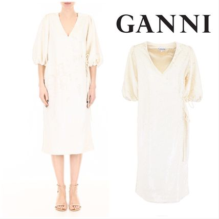 Ganni ワンピース 【GANNI】Sequins Dress