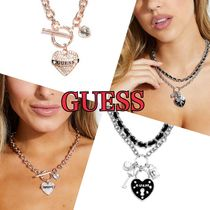 【Guess】ハートチャームネックレスト●Heart Charm/Necklace