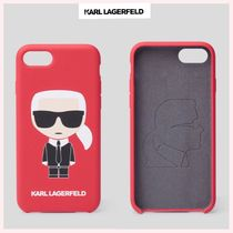 ☆Karl Lagerfeld☆NEW♪関税込♪K/IKONIK IPHONE 8 カバー